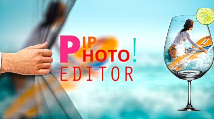 PIP Photo Editor Lets You Warp Photo in a Unique Collection of Photo Frames.